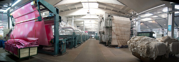 textile industry panoramic