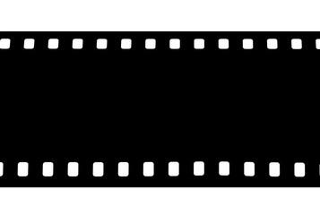 film noir, fond blanc