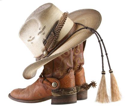 Boots, Spurs & Hat