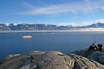 Uummannaq fjord, Greenland.