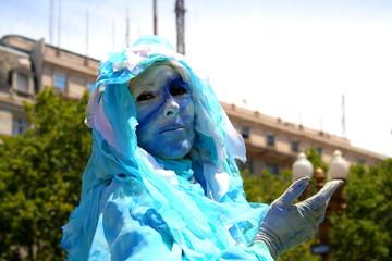 Straßenfest in Buenos Aires