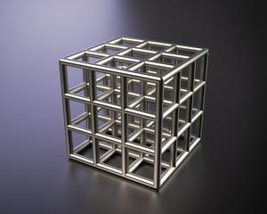 Cubo d'acciaio