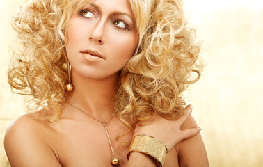 Golden blond