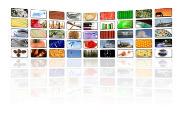 multimedia lcd television background illustration