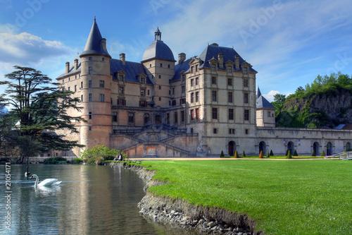 Chateau de Vizille, Isere, France загрузить