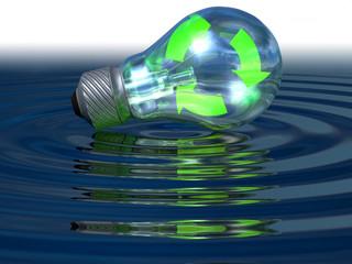 lampadina - energia rinnovabile