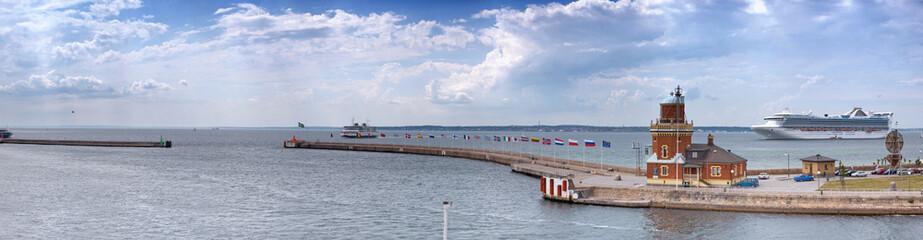 Helsingborg port Panorama