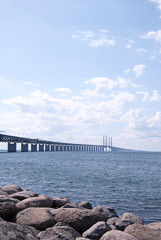 Oresundsbron on the oresund