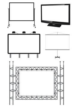 5 tipi di schermo