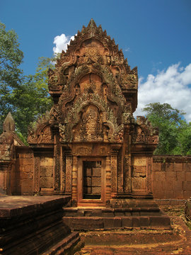 Banteay Srei temple (temple of women) near Angkor Wat, Cambodia