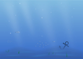 Deep Blue Blue Sea