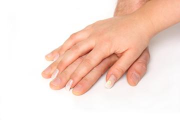 liebevolle Hände