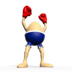 Egg boxing - biggest winner