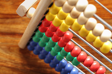 Counting on an abacus