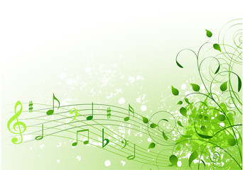 Canvas Prints Fairytale World Spring song background