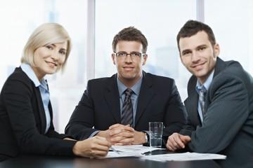 Businesspeople portrait