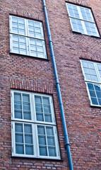 Fenêtres et gouttière