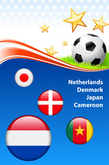 World Soccer Football Group E