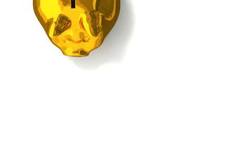 Sparschwein, Gold