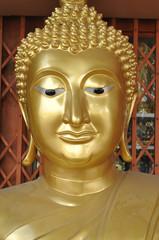 Buddha Head New Brass