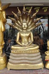 Buddha New Serpent Brass
