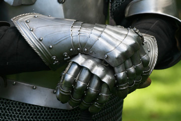 Gloves of a knight