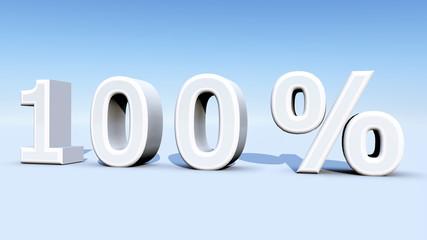 Hundert Prozent