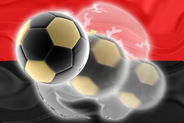 Flag ofAngola wavy soccer website