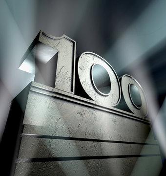 100 birthday celebration monument anniversary