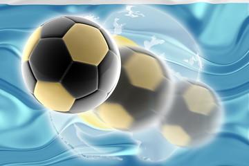 Flag of Palau wavy soccer website