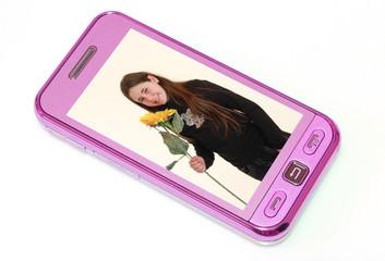 cellulare con foto