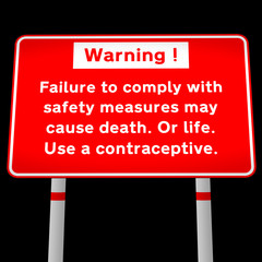 contraception road message