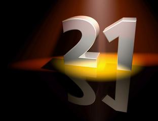 21 twentyone birthday anniversary monument