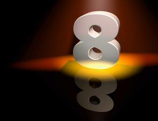 8 eight birthday anniversary celebration