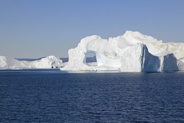 Iceberg in the Ilulissat fjord, Greenland.