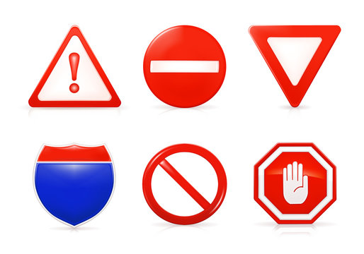 Restrictive signs