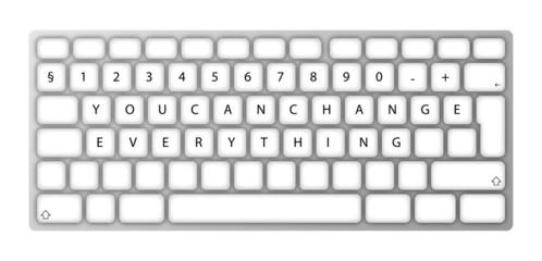 Fully Customizable Vector Keyboard