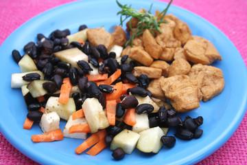 Hühnchen mit Gemüse