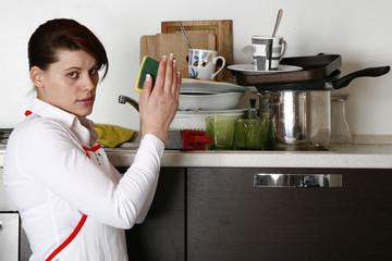 nessuna voglia di lavare i piatti