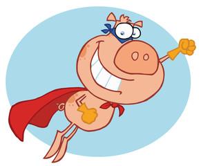 Super Hero Pig