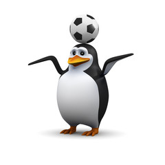 Football Penguin
