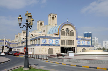 Central Souq in Sharjah City, United Arab Emirates
