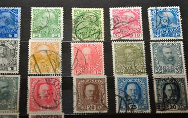 kaiser franz josef -briefmarke