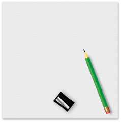 School supplies - vector illustration