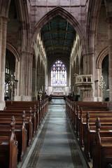 Coventry - Holy Trinity Church interior