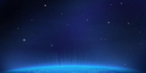 Spazio blu