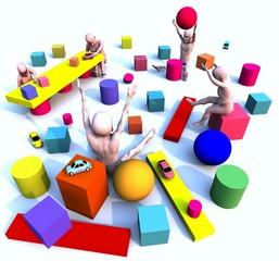 Manichini: giocando 5