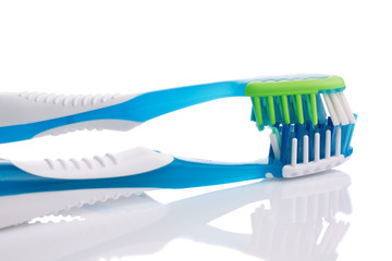 Two new toothbrushes