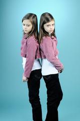 upset twins in conflict
