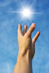 Reach to sun